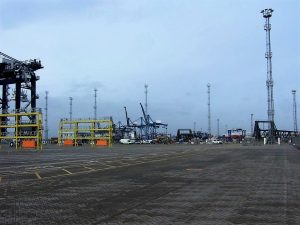 Swann Carry Out Lighting Replacement at Port of Felixstowe