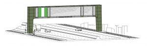 Swann Provides Gantry Design for OOHM Structure in Nigeria