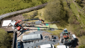 Telecom Structural Deployment - Maentwrog Sewage Works